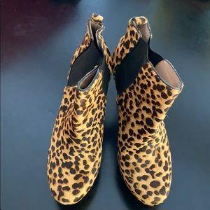 Vince Camuto Leopard Platform Heel